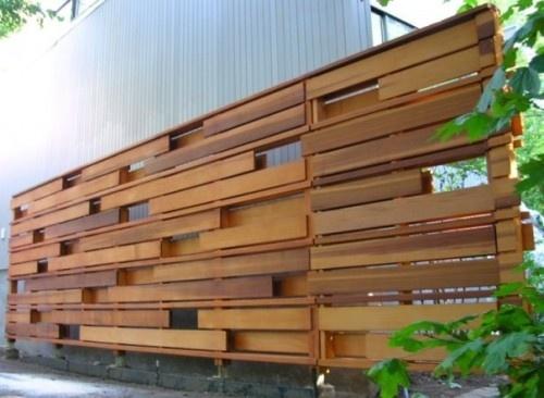 drvena ograda letvice