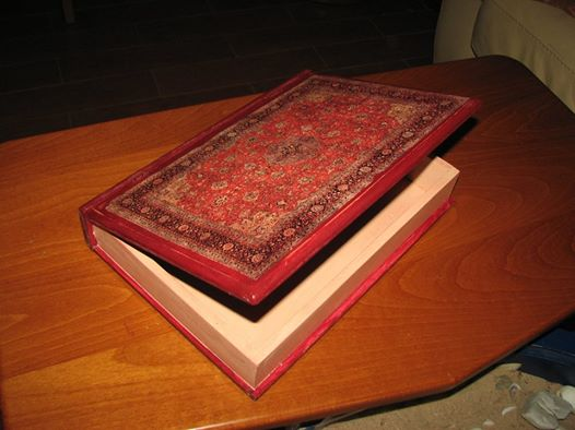 kutija knjiga dekupaz