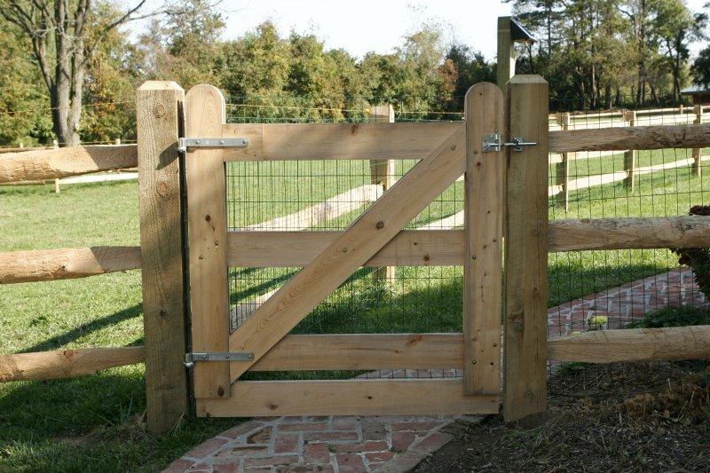rustik ograda